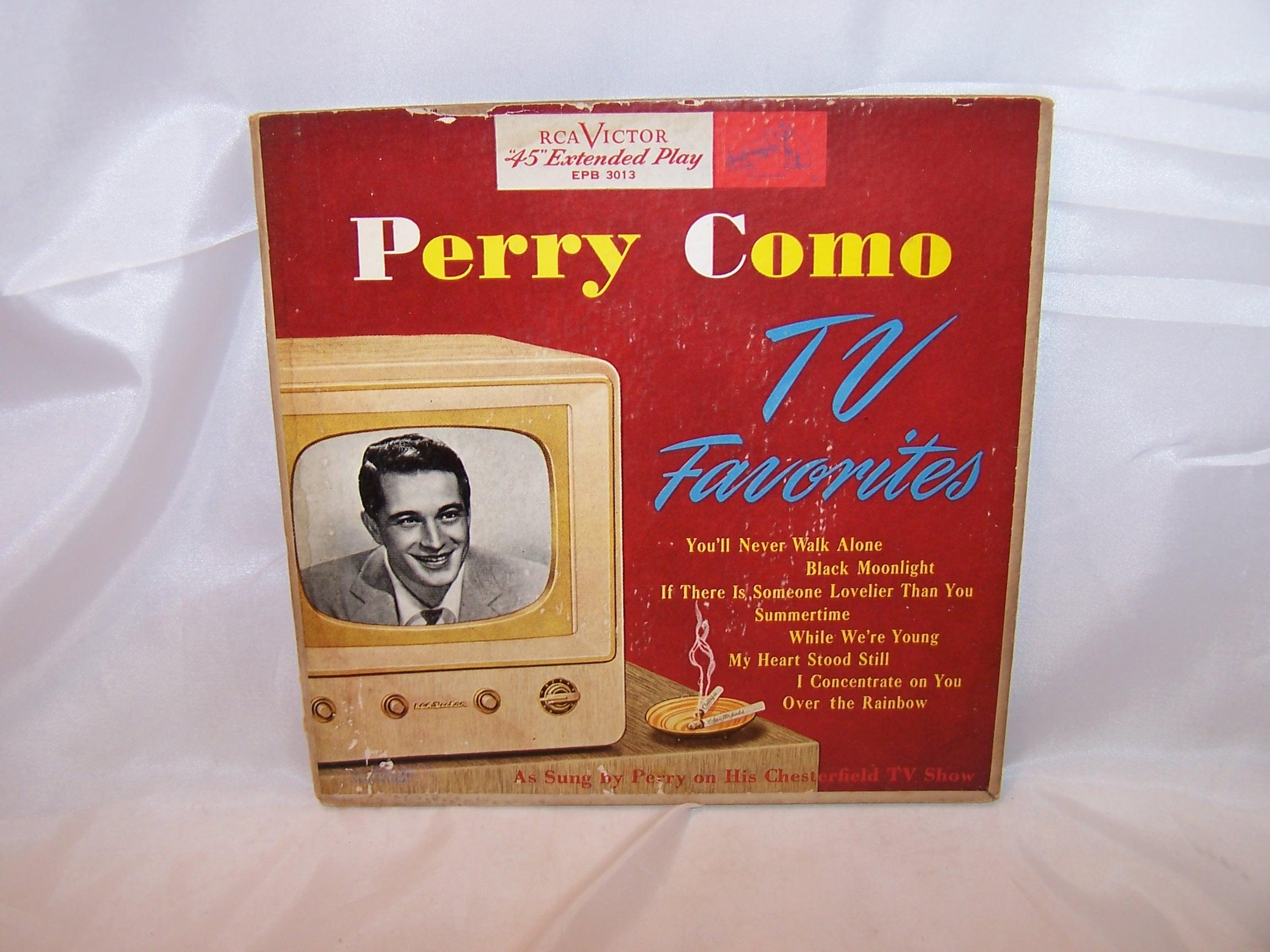 Perry Como, TV Favorites 45 RPM Record Set