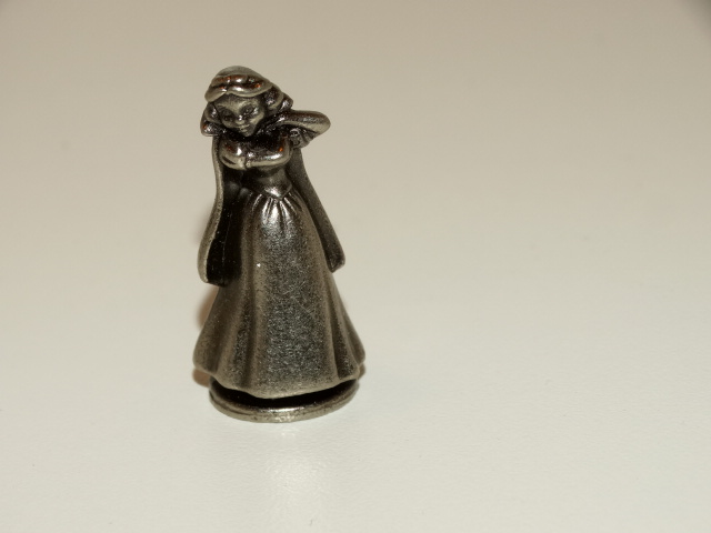 Sleeping Beauty Monopoly Playing Piece, Disney