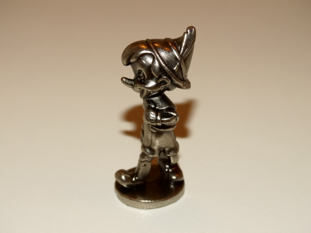 Pinocchio Monopoly Playing Piece, Disney