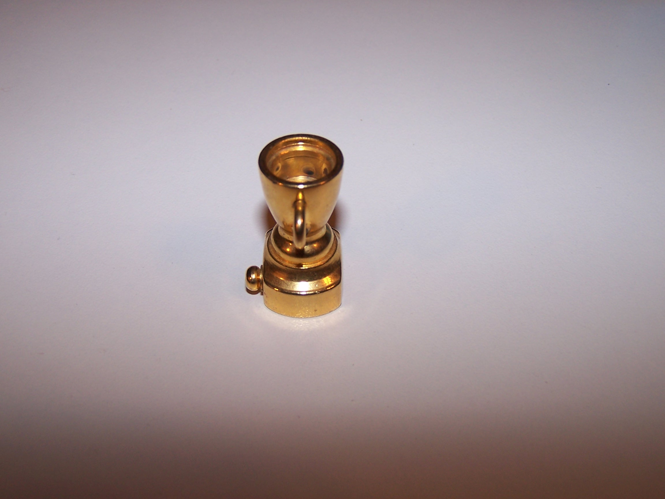 Image 2 of Dollhouse Brass Trophy, Miniature