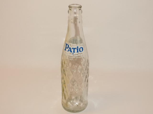 Pepsi Cola Pepsi Pop Bottle Old Swirled Glass