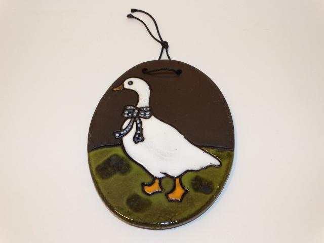 Duck Pottery Tile