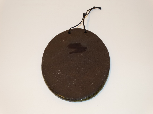 Image 1 of Duck Tile w Hanging Loop, Pottery