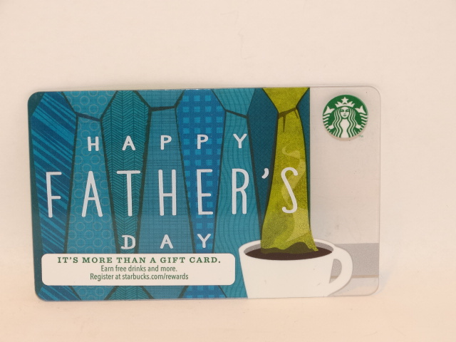 '.Father's Day Starbucks Card.'
