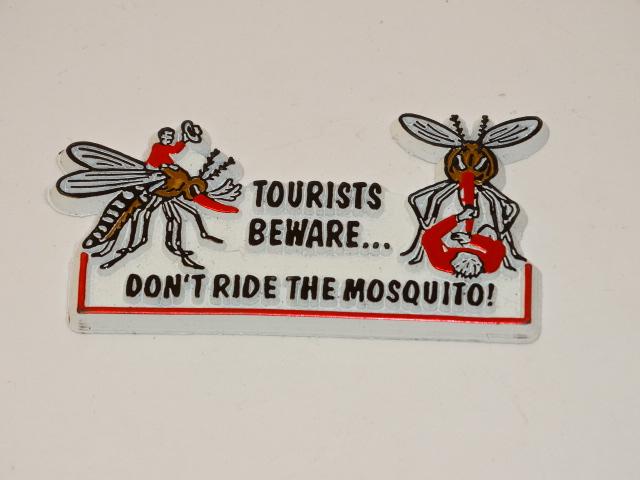 Mosquito Refrigerator, Locker Magnet