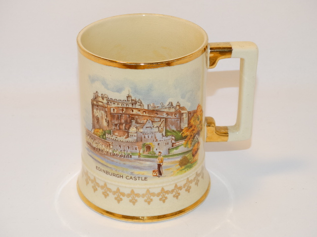 Arthur Wood Edinburgh Castle Mug 3955