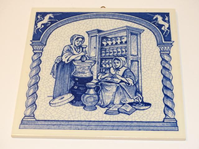 Ceramic Tile, English Pill Tile Reproduction