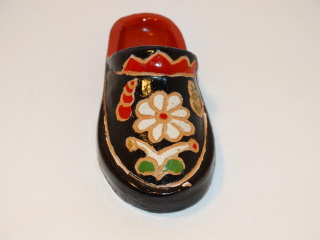 Miniature Shoe, Polish, Bobowski Zaklad Ceramiczny