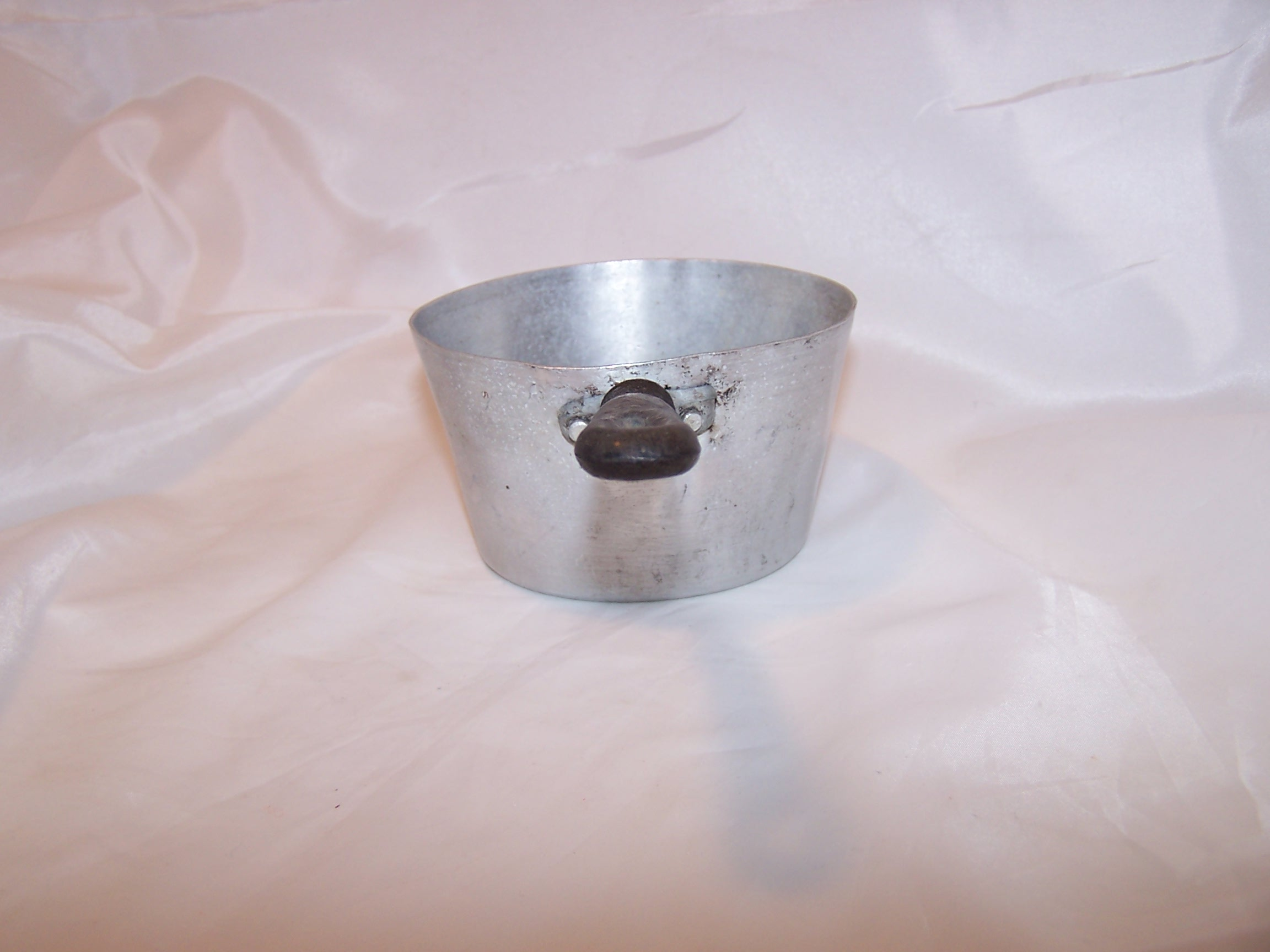 Image 1 of Toy Cook Pot, Aluminum, Vintage Childs Toy
