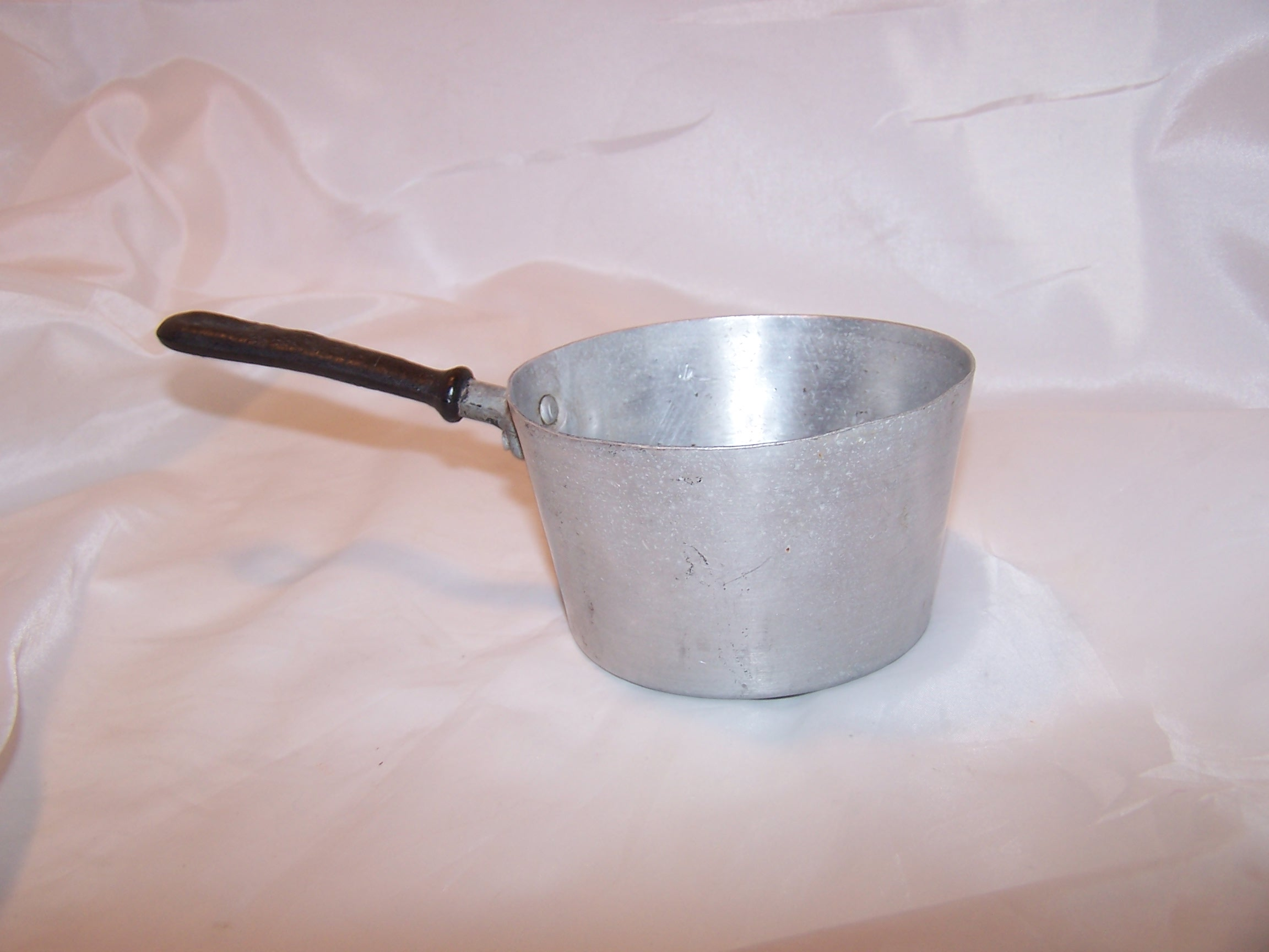 Image 4 of Toy Cook Pot, Aluminum, Vintage Childs Toy