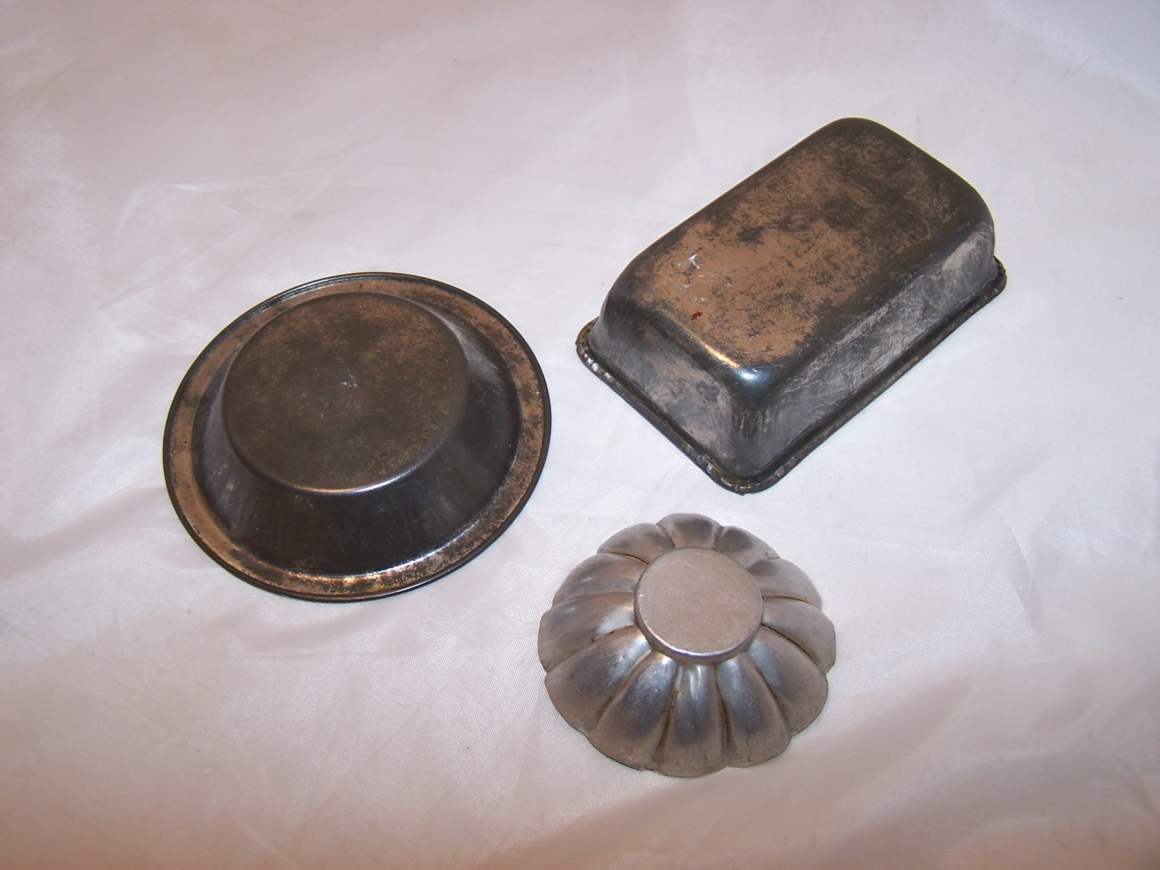 Image 1 of Toy Baking Pan, Pie Pan, Mold Childs Cookware, Aluminum
