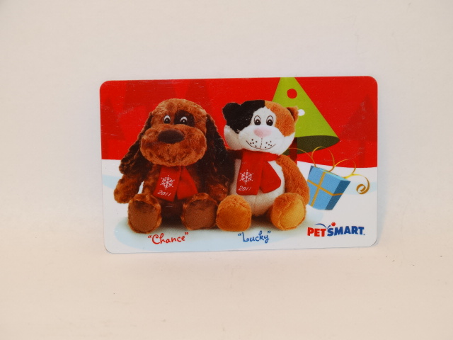 Petsmart Gift Card, Chance and Lucky, ZERO Balance