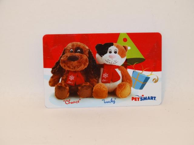 Petsmart Gift Card, Chance and Lucky, ZERO Balance