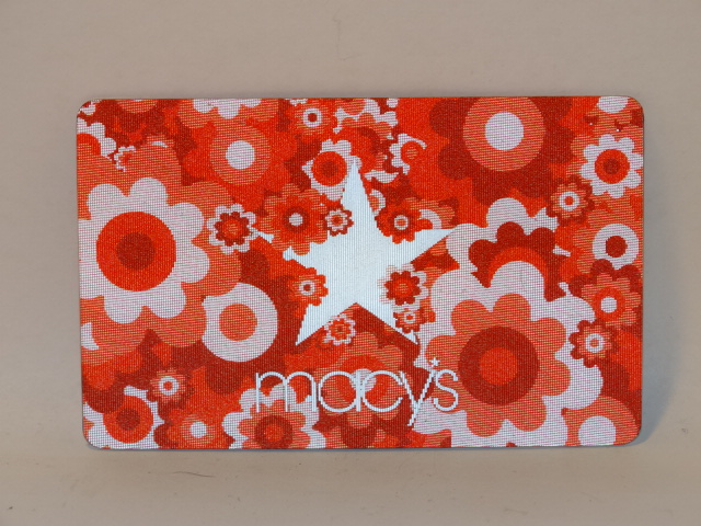 Macys Gift Card, Color Change Flowers, ZERO Balance