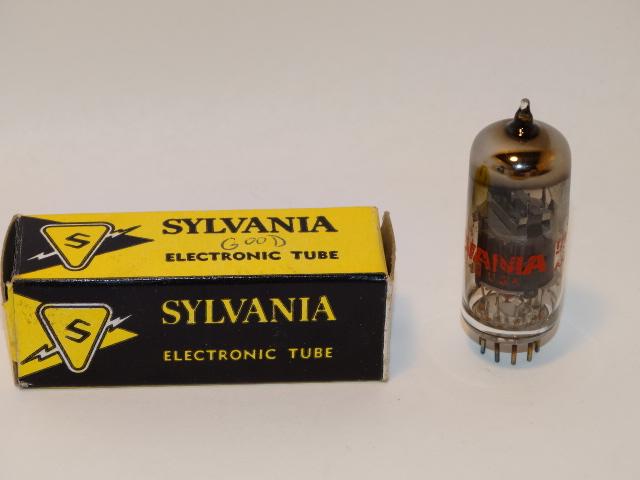 Vacuum Tube Sylvania 6EJ7 EF184, Electronic Tube
