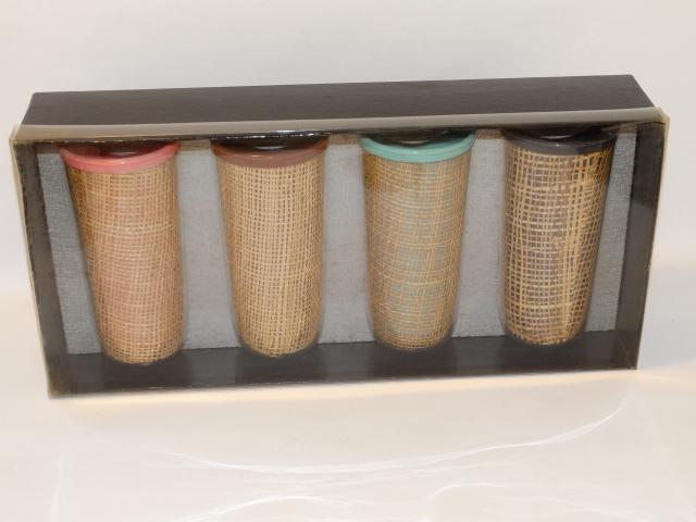 Vintage Tumbler Set, No. 1