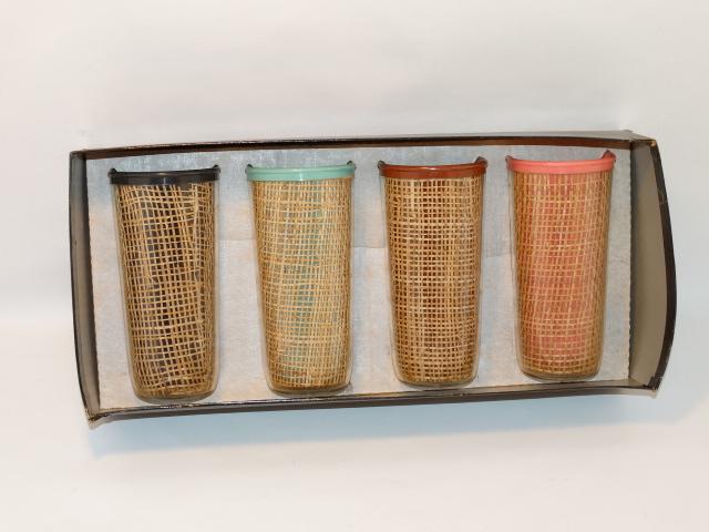 Vintage Tumbler Set, No. 3