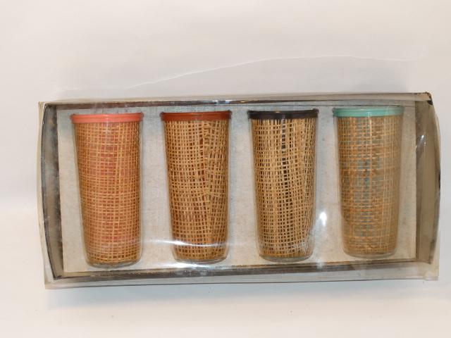 Vintage Tumbler Set, No. 2