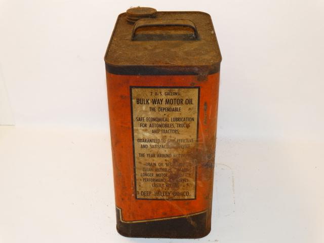 Image 1 of Oil Can Bulk Way Orange Black, Farm Fresh