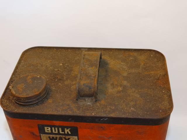 Image 5 of Oil Can Bulk Way Orange Black, Farm Fresh