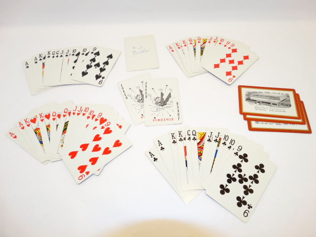 '.Pinochle Playing Card Deck.'