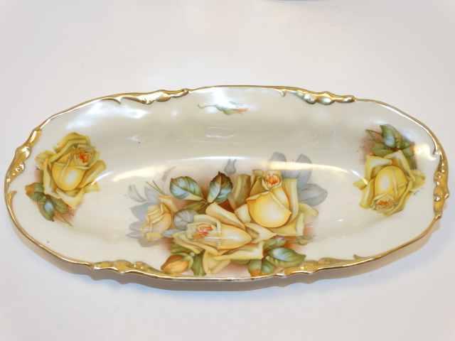 Image 2 of Prov SXE ES Germany Two Bowl Serving Set, Yellow Roses