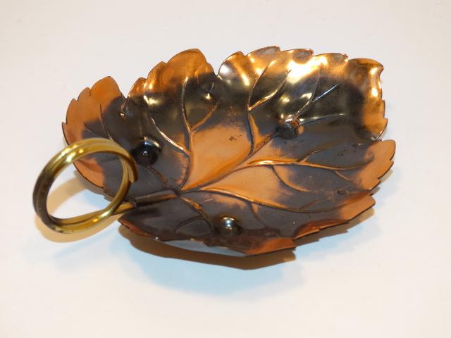 Copper Leaf Dish