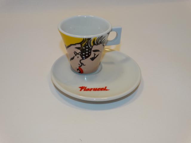 Fiorucci Dolce Gusto Nescafe Espresso Cup Saucer