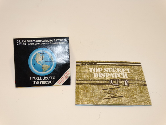 GI Joe Order Form and Dispatch