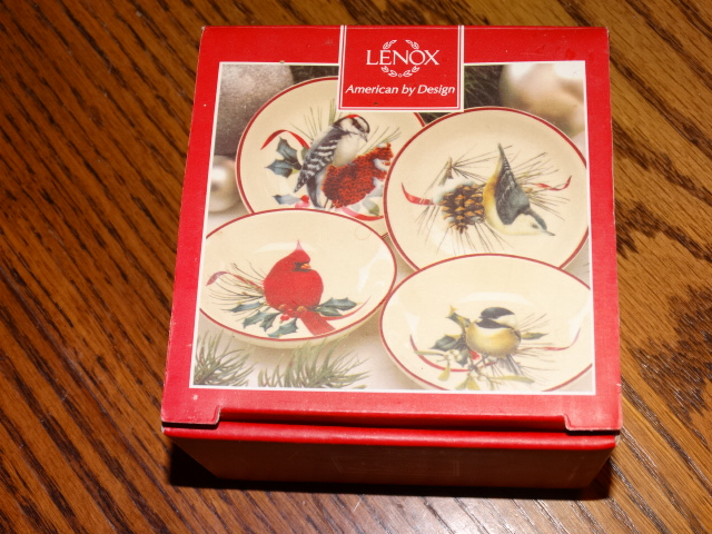 Lenox Winter Greetings Dip Bowl Set NIB