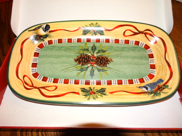 Lenox Winter Greetings Everyday Hors D'Oeuvre Tray