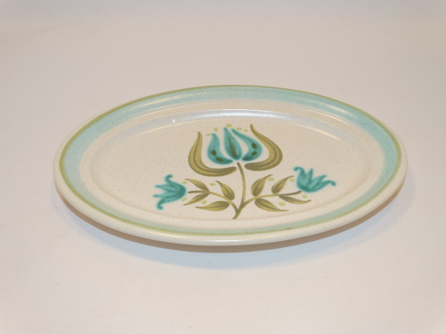 Franciscan Tulip Small Platter Earthenware