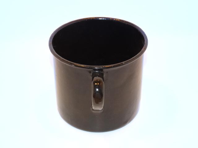 Image 1 of Enamelware Large Cup w Handle Vintage