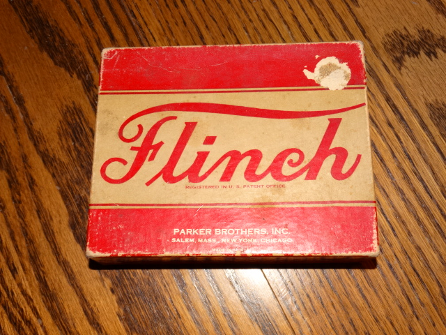 Flinch Card Game Complete with Bonus 1951