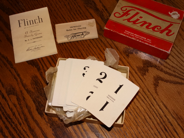 The waxed paper on one deck was loose enabling photographing of some of the cards.