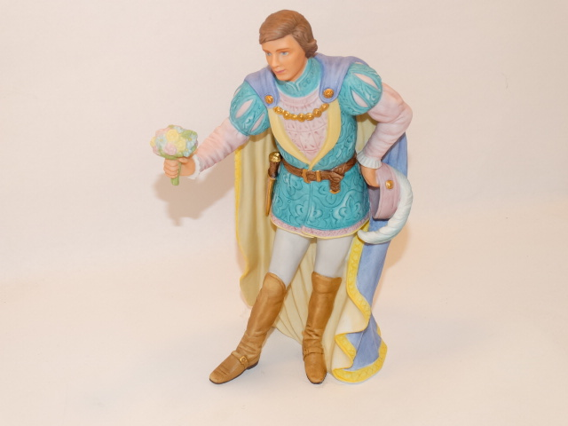Gallant prince in porcelain.