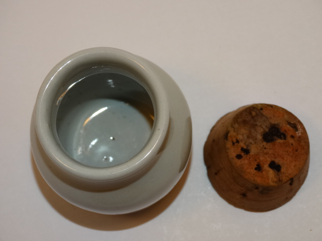 Image 1 of Thyme Crock with Cork Stopper