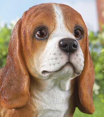 Image 1 of Buddy Beagle Dog Garden Statue