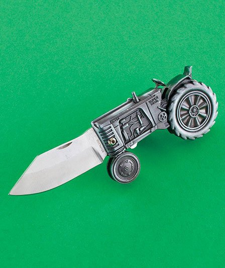Image 3 of Oliver Tractor Collectible Knife Folding