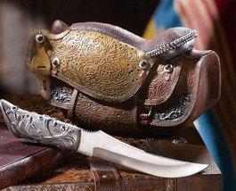 Image 0 of Country Western Cowboy Saddle Knife Set