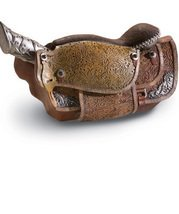 Image 2 of Country Western Cowboy Saddle Knife Set