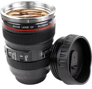 Image 0 of Camera Lens Coffee Cup