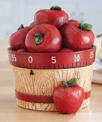 Apple Basket 60-Minute Kitchen Timer