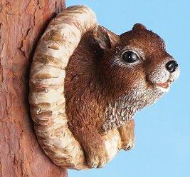 Image 2 of Squirrel Birdfeeder Tree Hanger