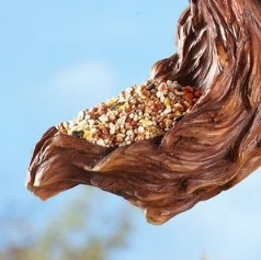 Image 3 of Squirrel Birdfeeder Tree Hanger