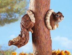 Squirrel Birdfeeder Tree Hanger
