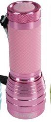 Pink 16 LED Glow Flashlight