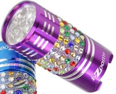 Bling Purse Flashlight Purple Purse Size 9 LED