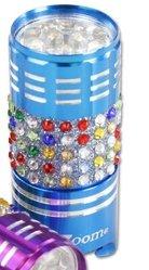 Bling Purse Flashlight Blue Purse Size 9 LED