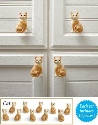 Image 4 of Cat Drawer Pulls  10 Pieces